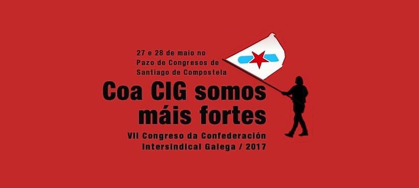 VII Congreso da Confederación Intersindical Galega (CIG) 2017 6