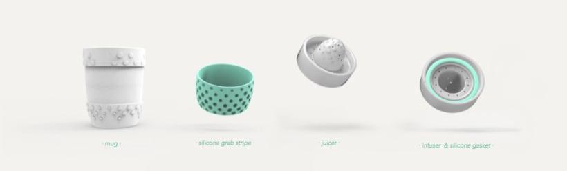 POUGs -ceramic mug/juicer/infuser- <Rome 2015> 5