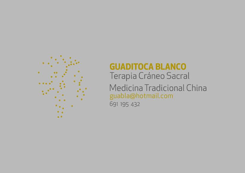 Identidad corporativa para; Guaditoca Blanco. 2
