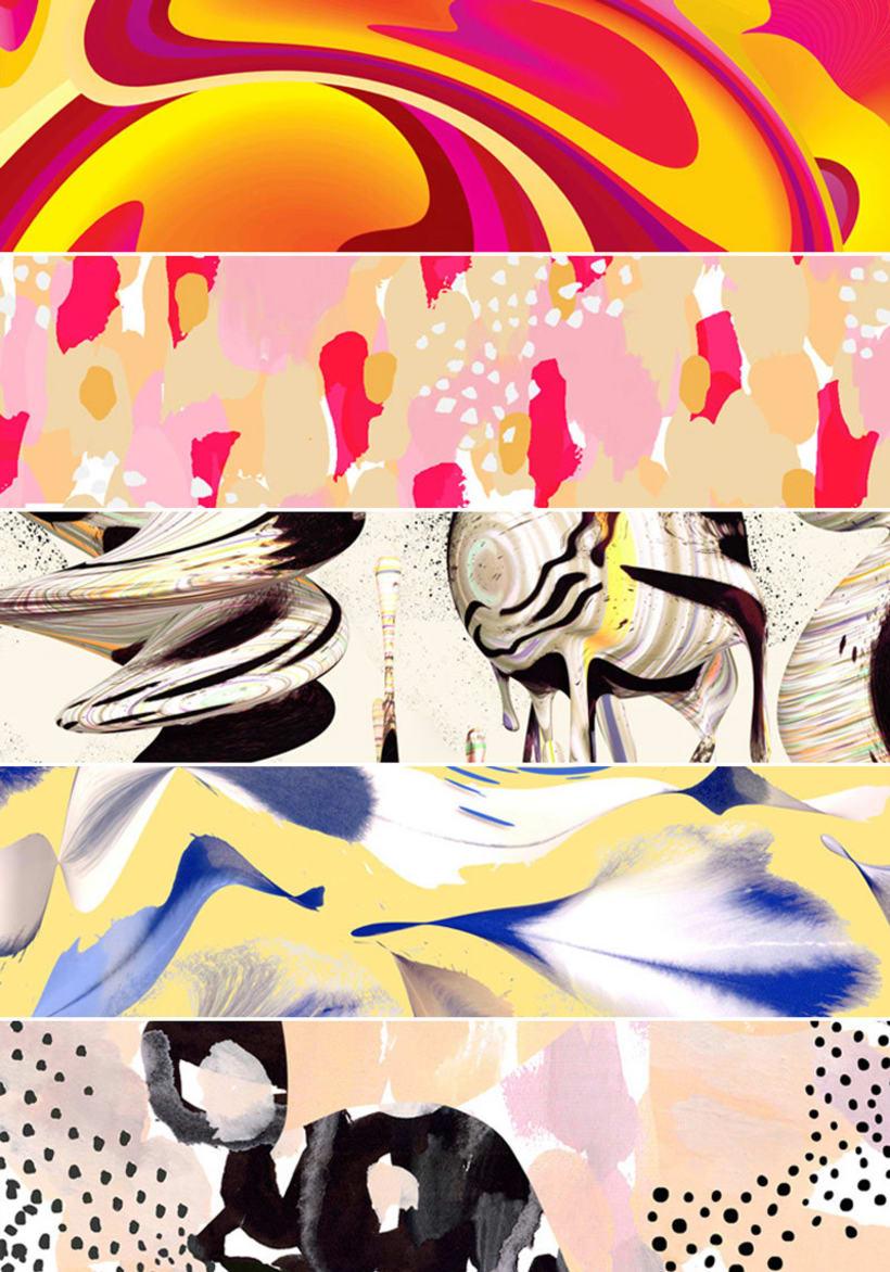 Los patterns de Moniquilla para Häagen-Dazs 15