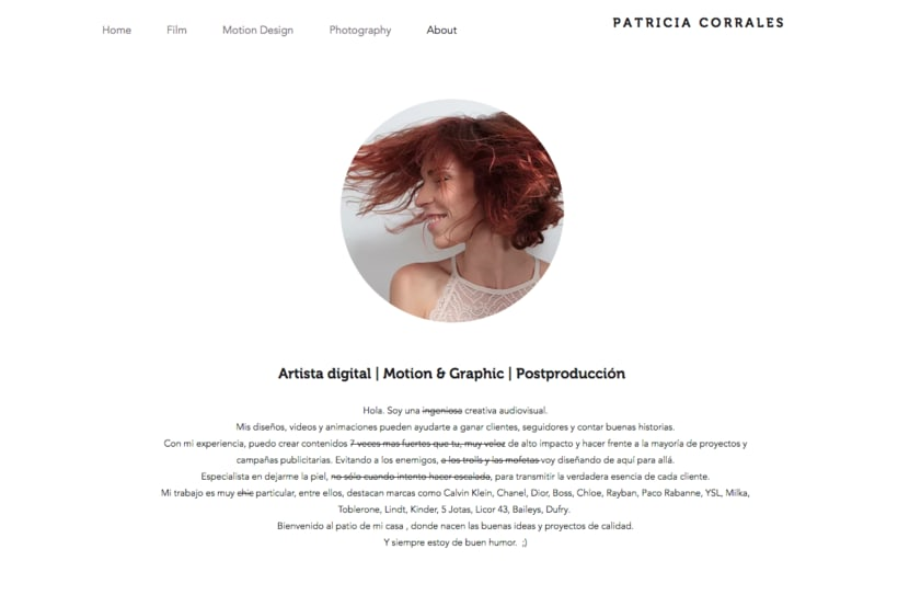 About Patricia Corrales 1