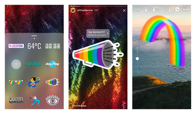 ¿Quién ha diseñado los stickers LGBTQ de Instagram? 6