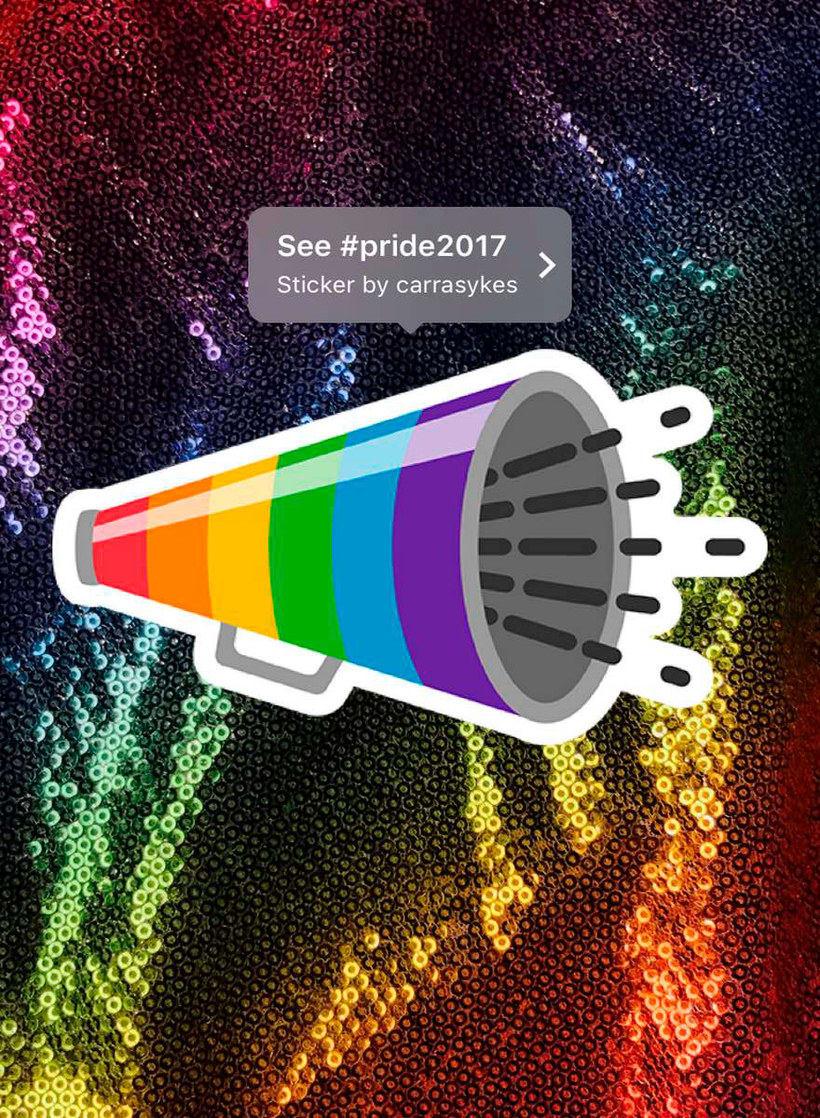 ¿Quién ha diseñado los stickers LGBTQ de Instagram? 8