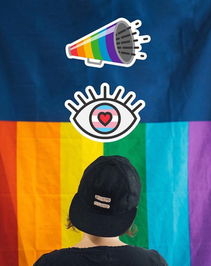¿Quién ha diseñado los stickers LGBTQ de Instagram? 3