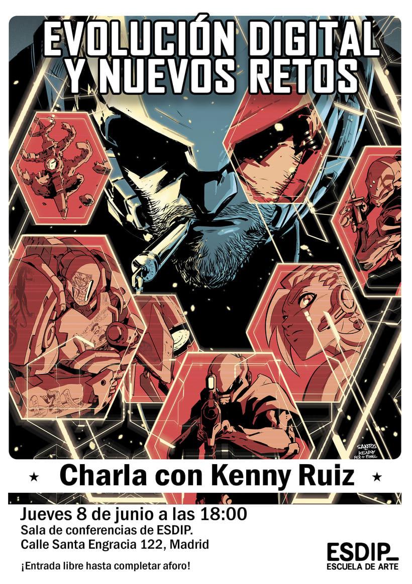 """Charla """"Evolución Digital y Nuevos Retos"""" con Kenny Ruíz 1"""