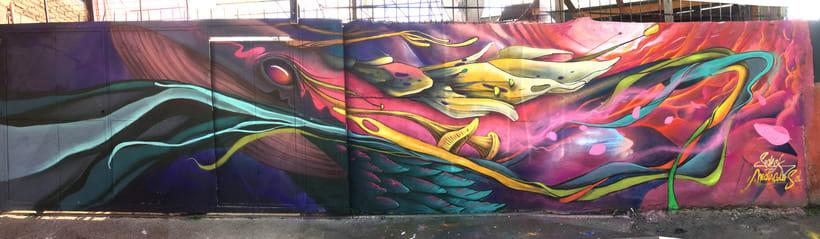 Mural El viaje -1