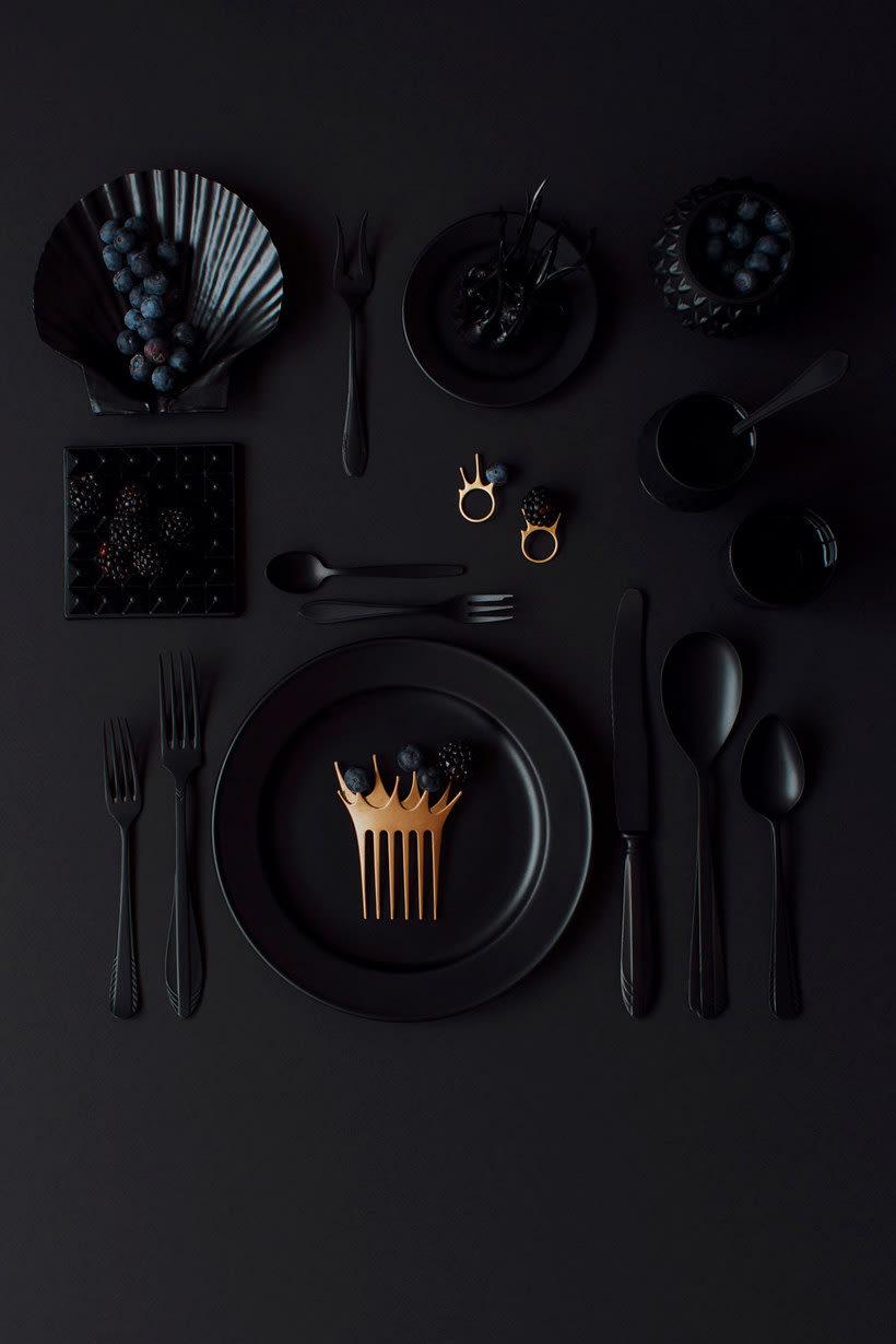 10 diseñadores que disfrutan jugando con comida 8