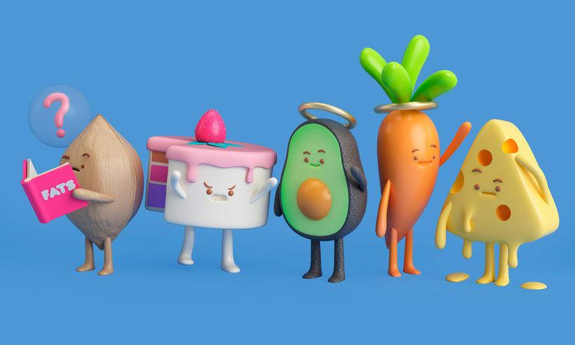 10 diseñadores que disfrutan jugando con comida 14