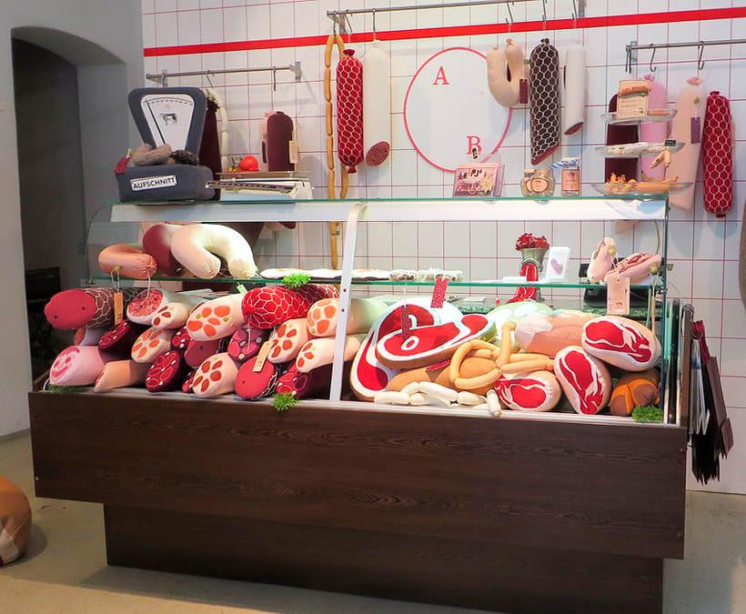 10 diseñadores que disfrutan jugando con comida 16