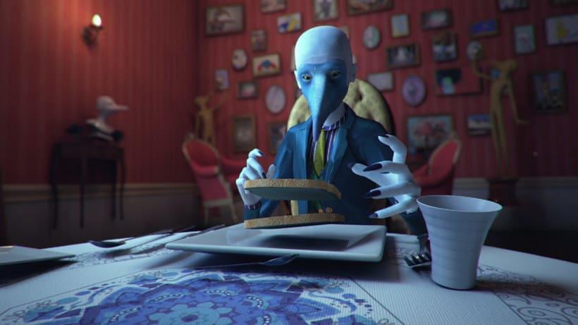 Mr. Blue Footed Booby, un corto sobre los sueños lúcidos 3