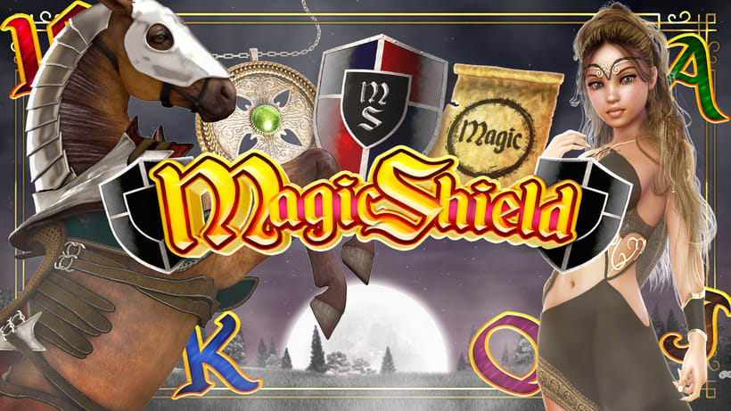 "Slot Game ""Magic Shield"" 2"