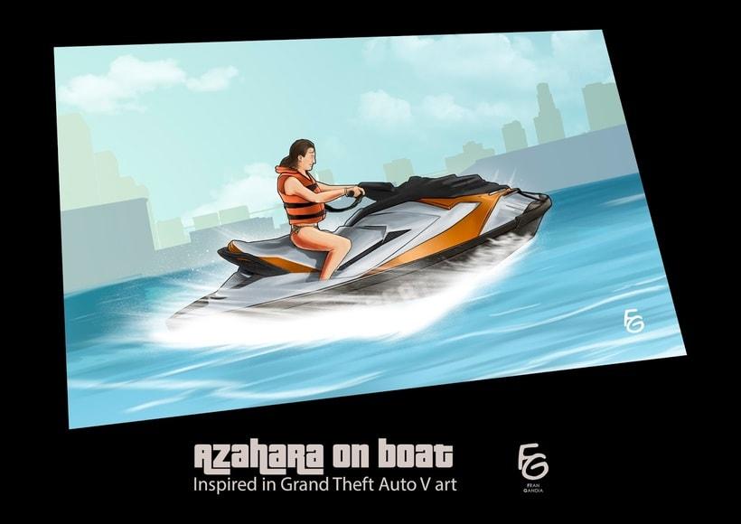 Grand Theft Auto V Fan Art -1