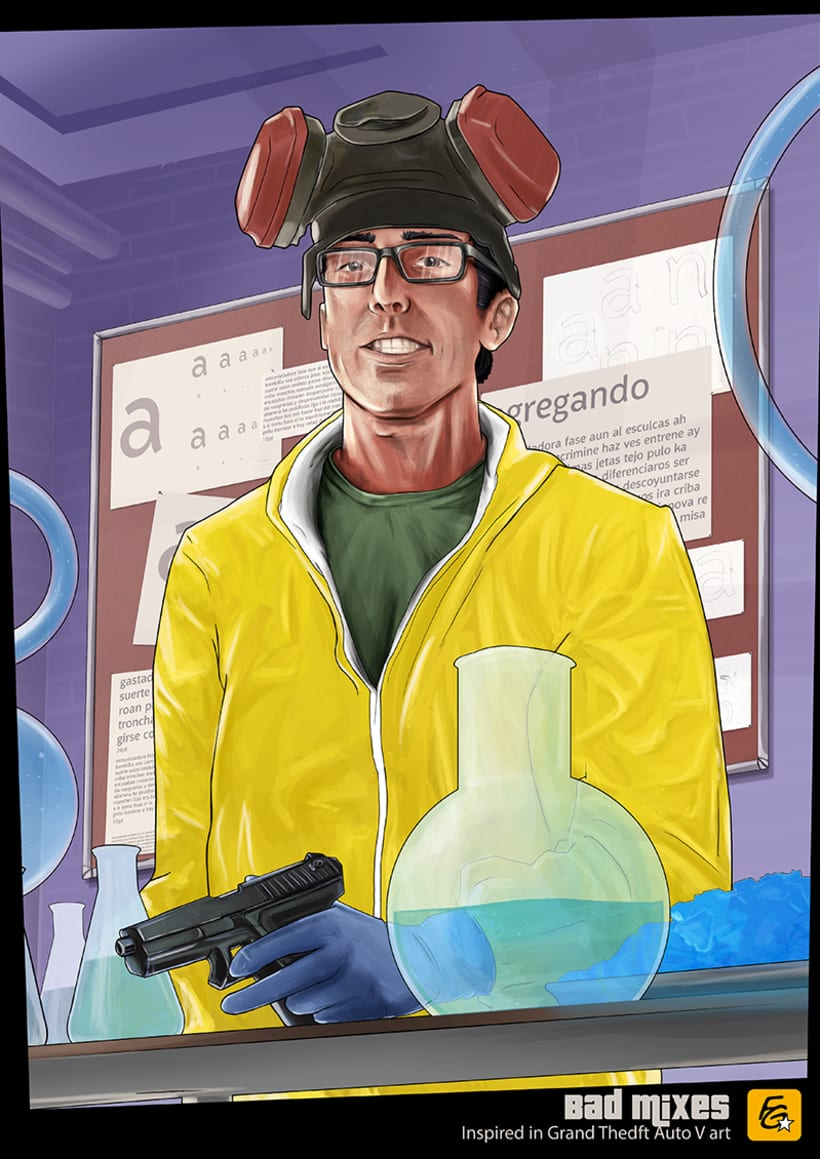 Grand Theft Auto V Fan Art 0