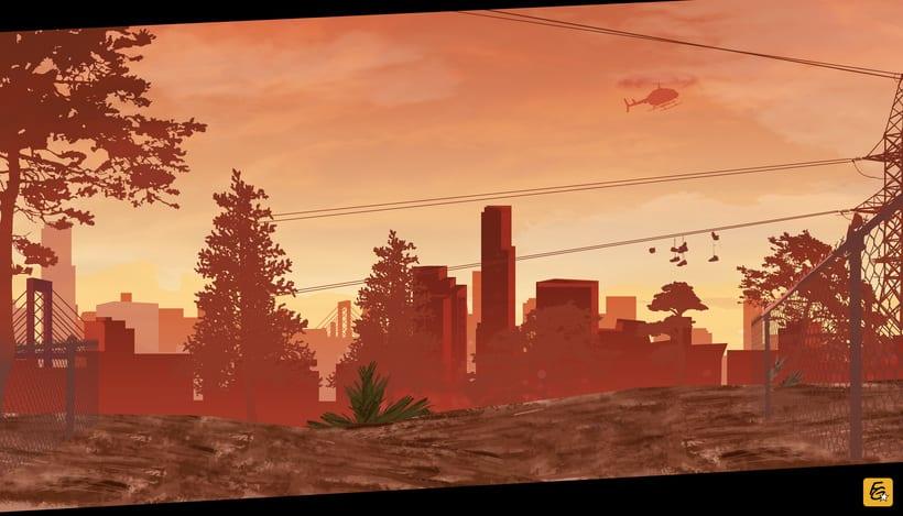 Grand Theft Auto V Fan Art 1