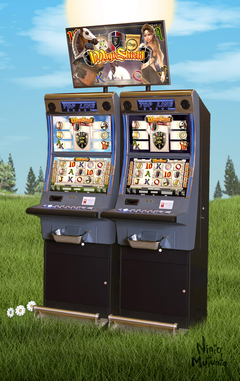"Slot Game ""Magic Shield"" 18"