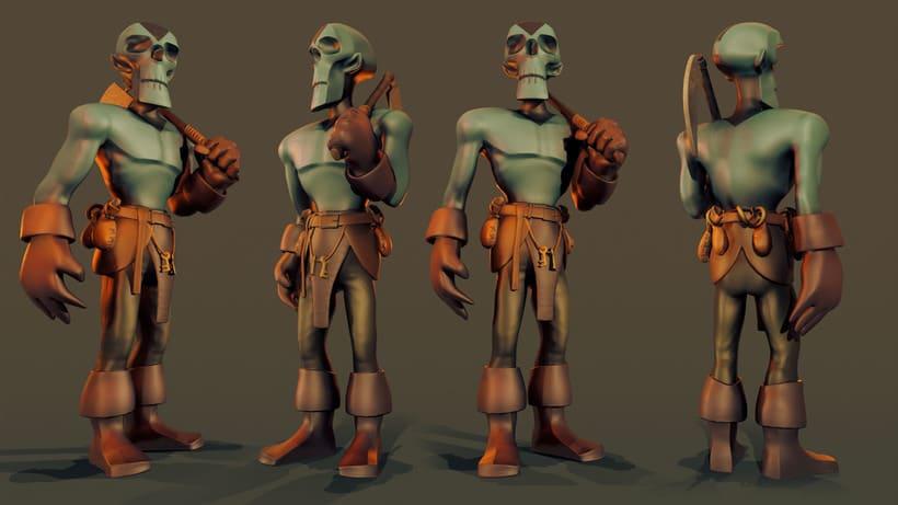 Skeleton Model 2
