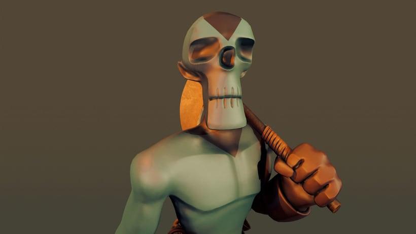 Skeleton Model 3