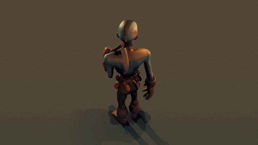 Skeleton Model 5