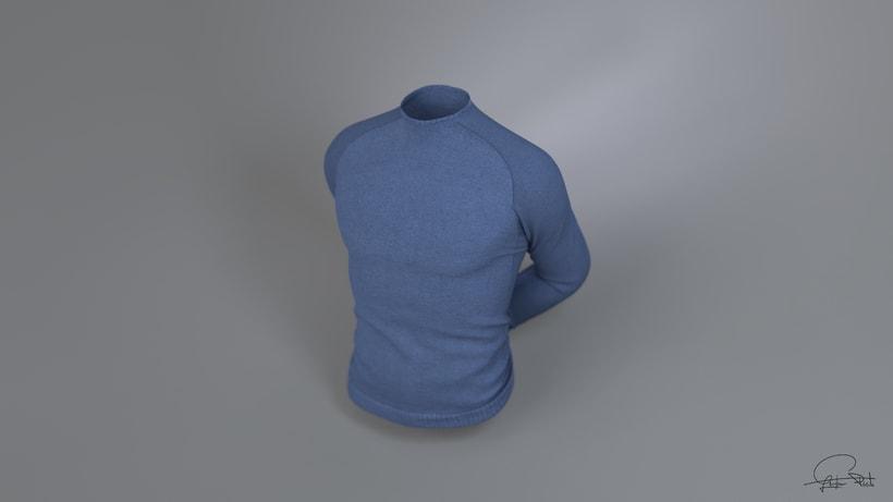 Sudadera 3D- Trabajo personal -1