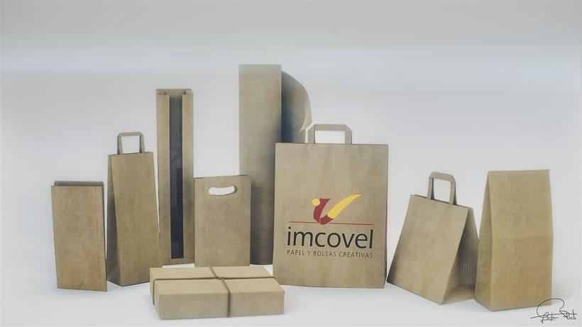 Pack shot - Bolsas de papel Imcovel -1