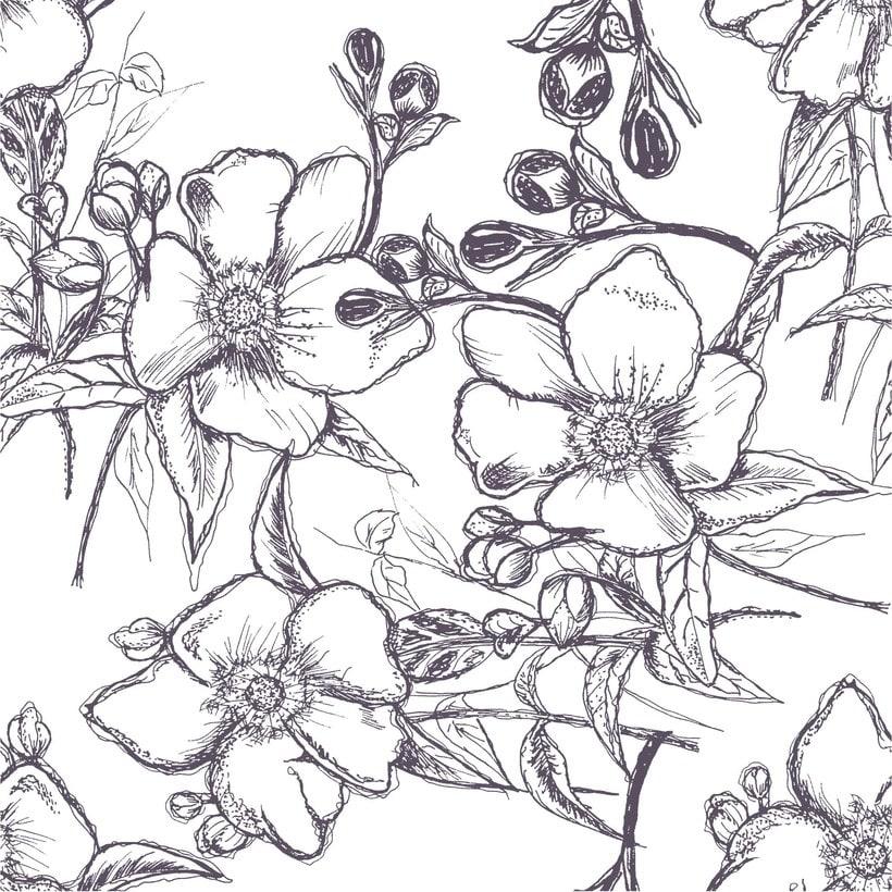 Mi Proyecto del curso: Diseño de estampados textiles 1