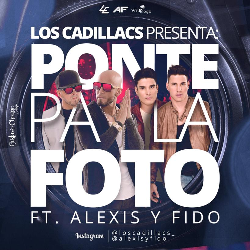Cover : Ponte pa´ la foto -  Los Cadillacs Ft. Alexis y Fido -1