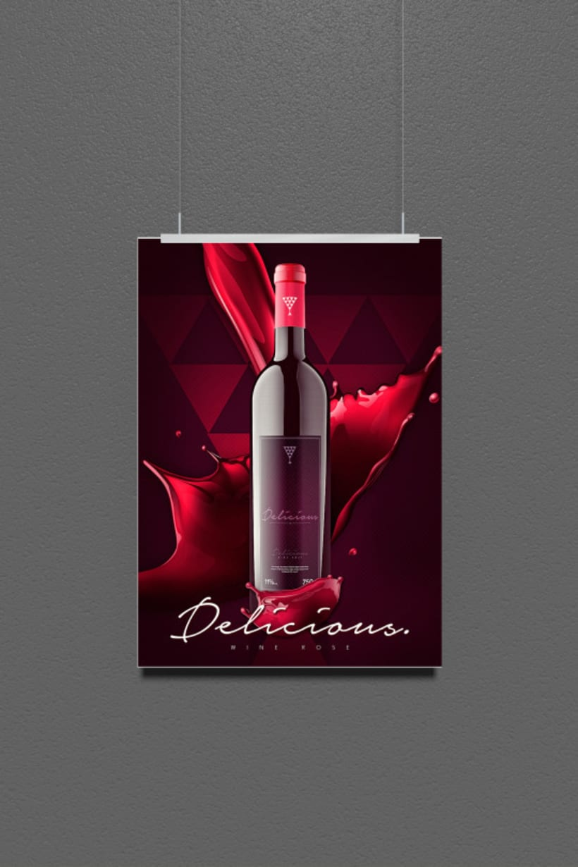 Packing : Delicious - Wine Rose 1