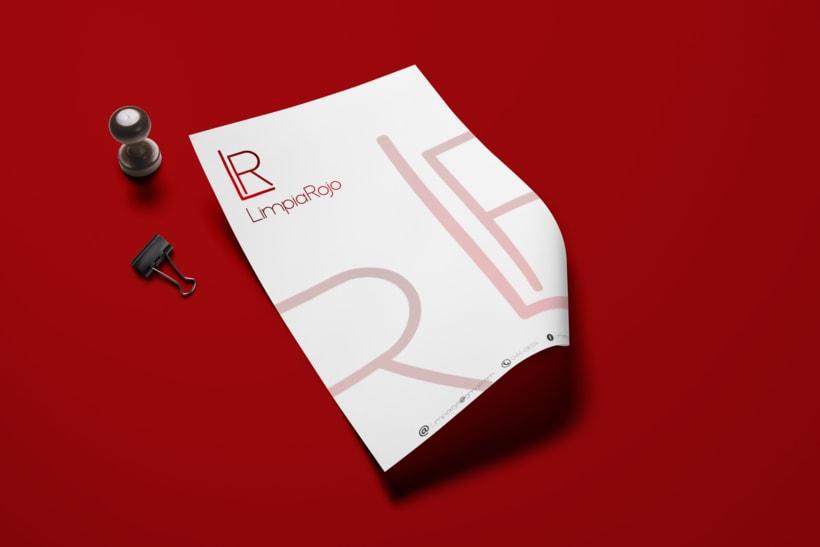 LimpiaRojo Branding & Identity. 5