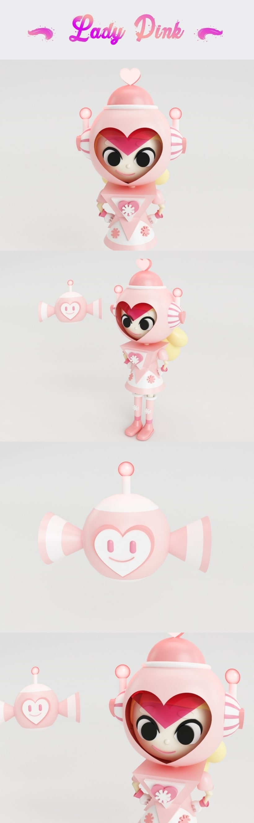 Lady Pink -1