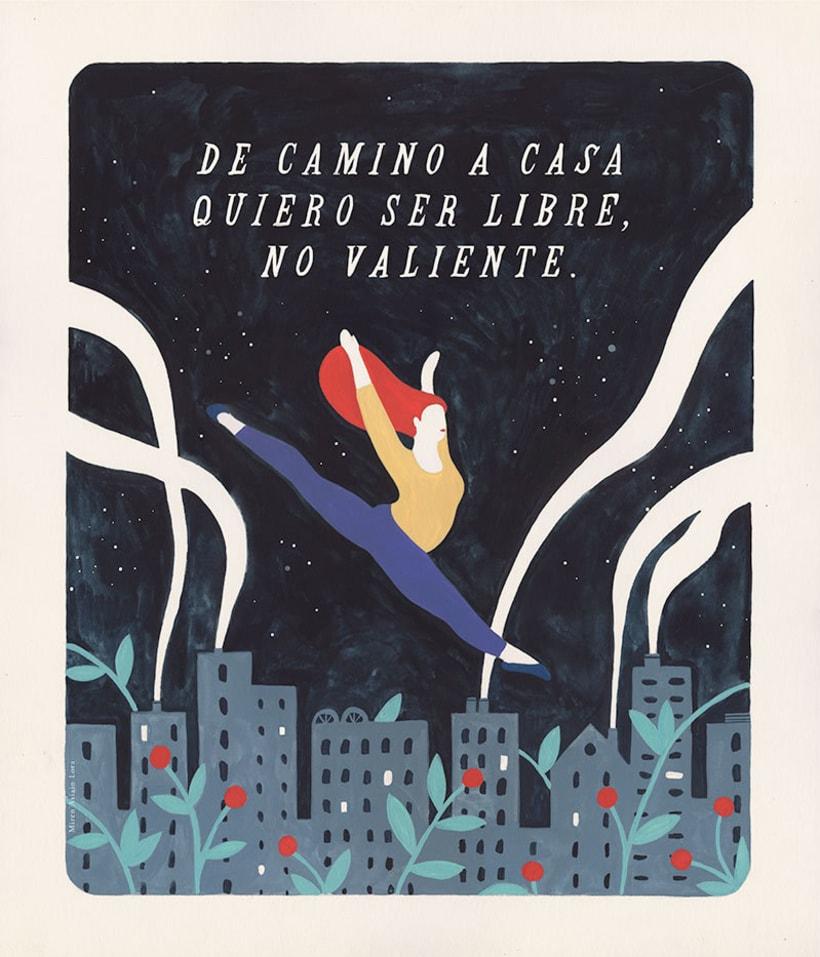 #VivanLasMujeres: ilustración y letras contra la violencia de género 9