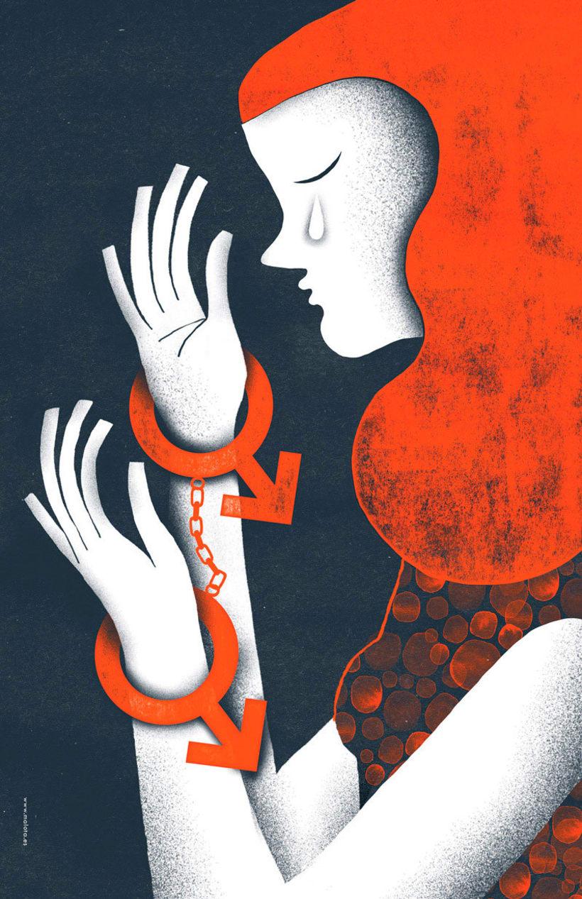#VivanLasMujeres: ilustración y letras contra la violencia de género 11