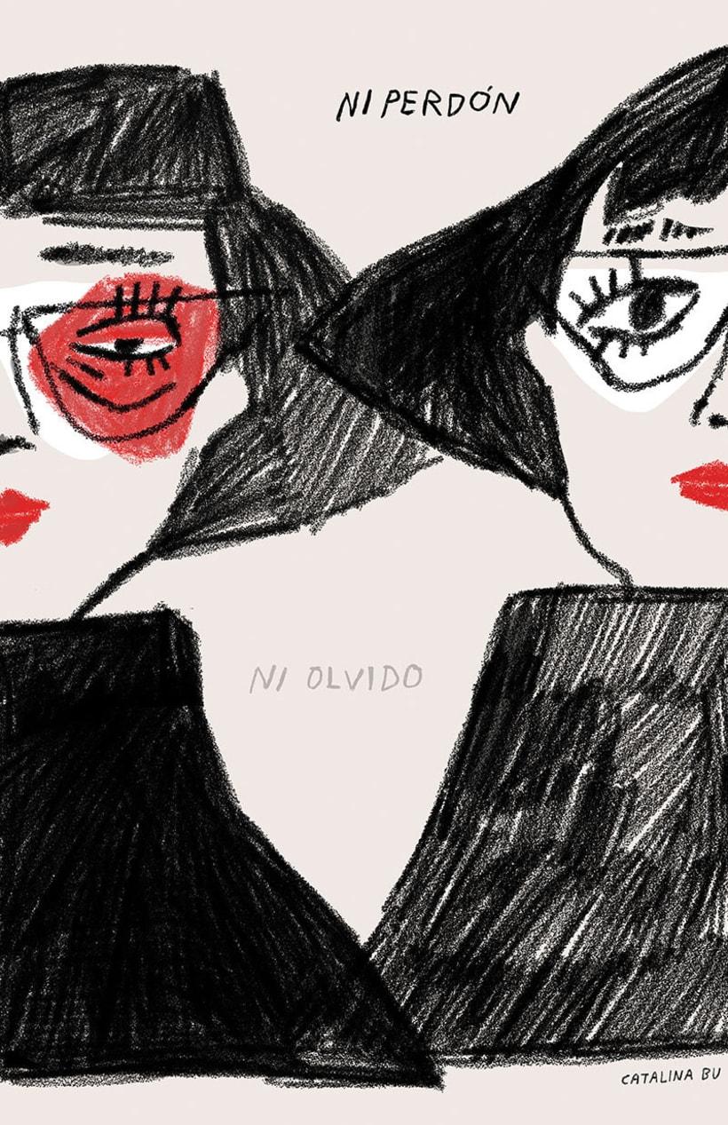 #VivanLasMujeres: ilustración y letras contra la violencia de género 15