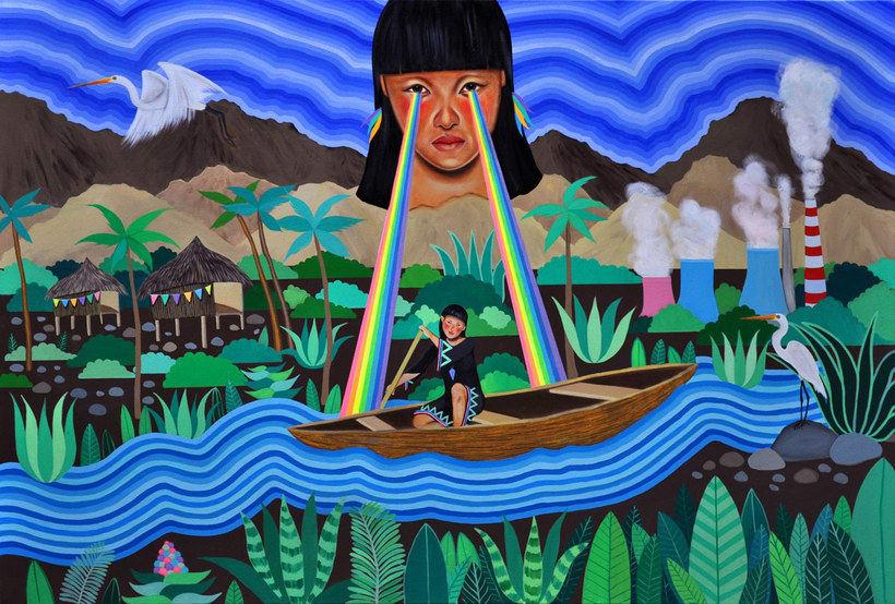 #VivanLasMujeres: ilustración y letras contra la violencia de género 31