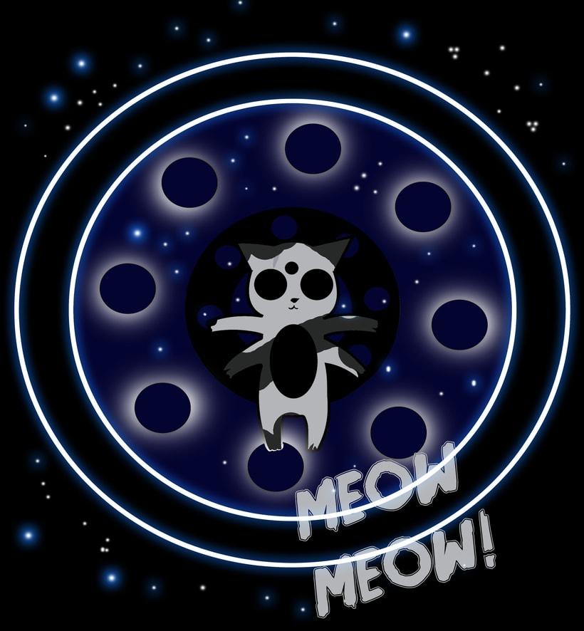 Design Cooosmic Cat -1