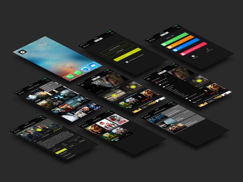 Diseño interfaz App 0