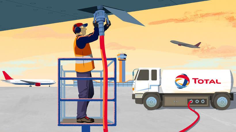 Total Energy - ilustraciones para video corporativo 1