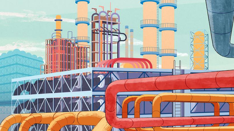 Total Energy - ilustraciones para video corporativo 2