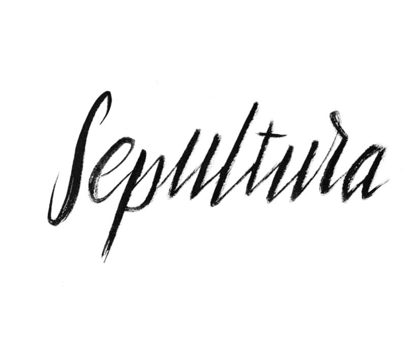 Sepultura lettering 1