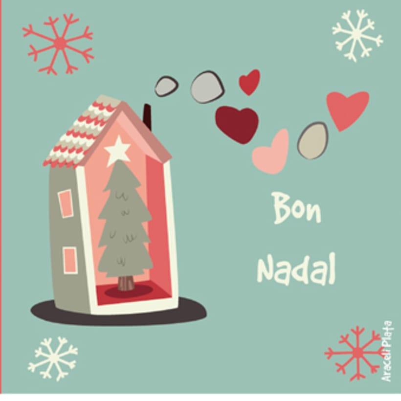 Pack de postales de navidad  1