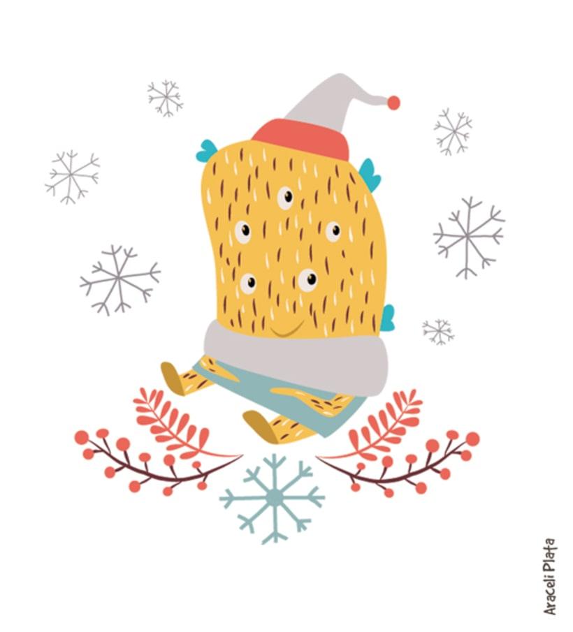 Pack de postales de navidad  4