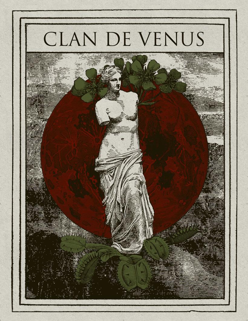 Poster Clan de Venus -1