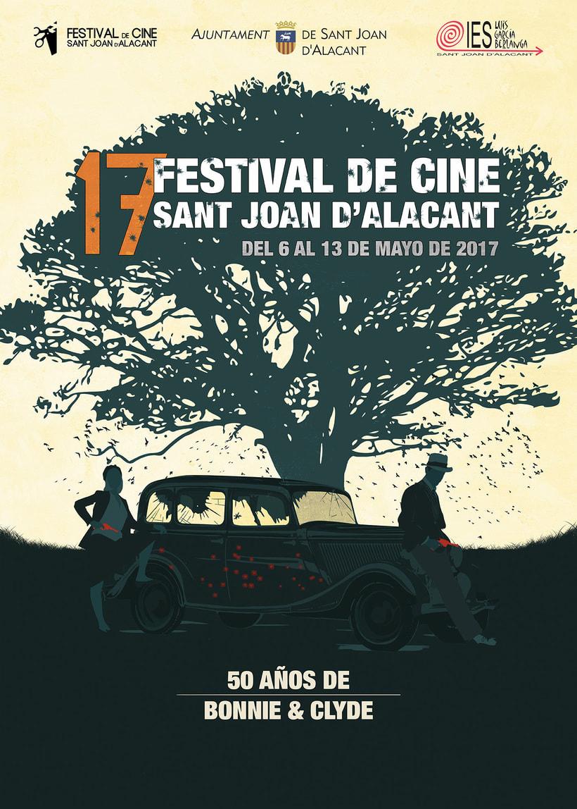 Cartel Festival Cine San Joan d'Alacant -1