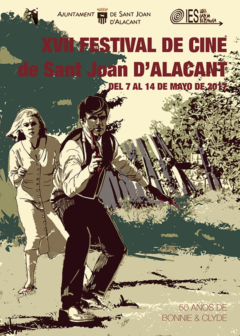 Cartel Festival Cine San Joan d'Alacant 0