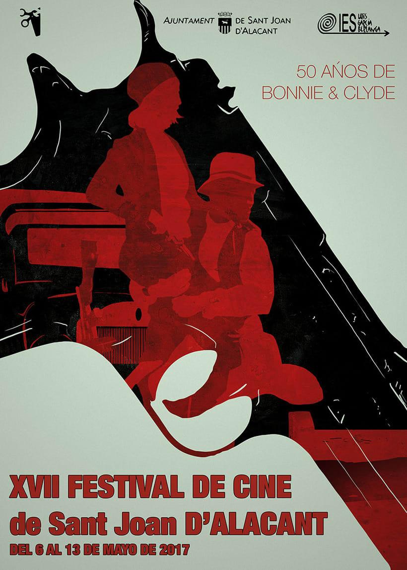 Cartel Festival Cine San Joan d'Alacant 1