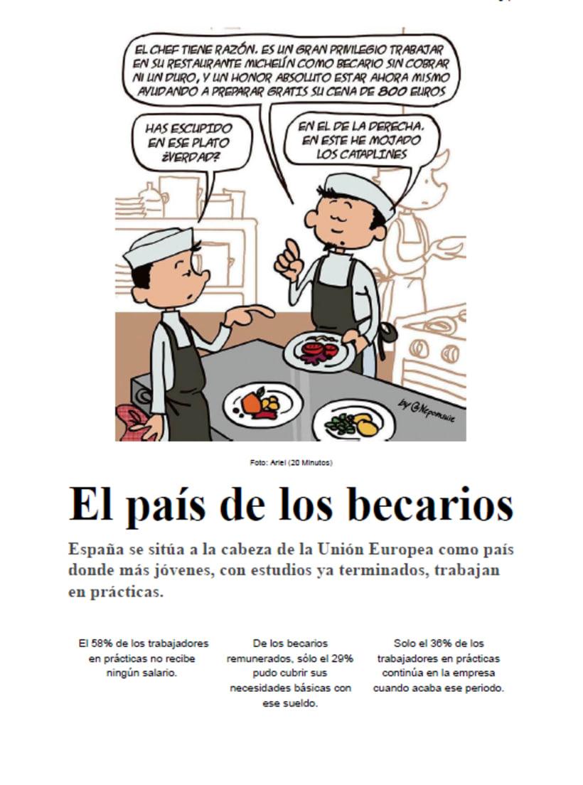 Reportaje: El País de los becarios 0
