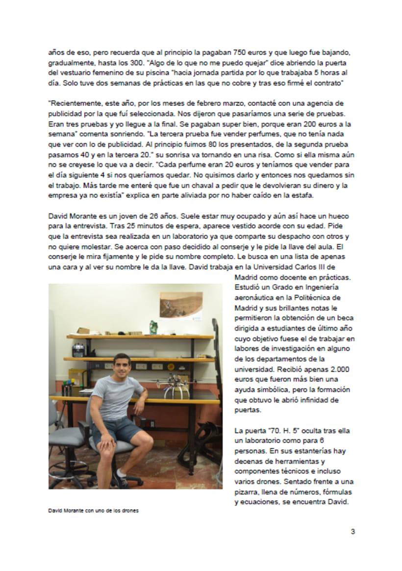 Reportaje: El País de los becarios 3