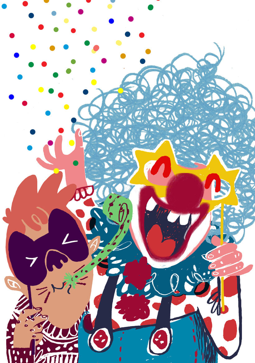 Carnaval | Magazine illustration -1