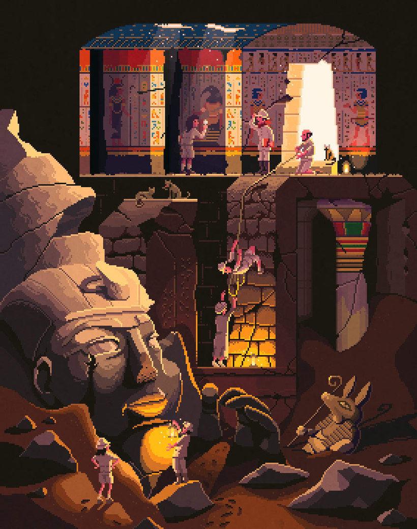 10 artistas del pixel art que nos devuelven a los 80 6