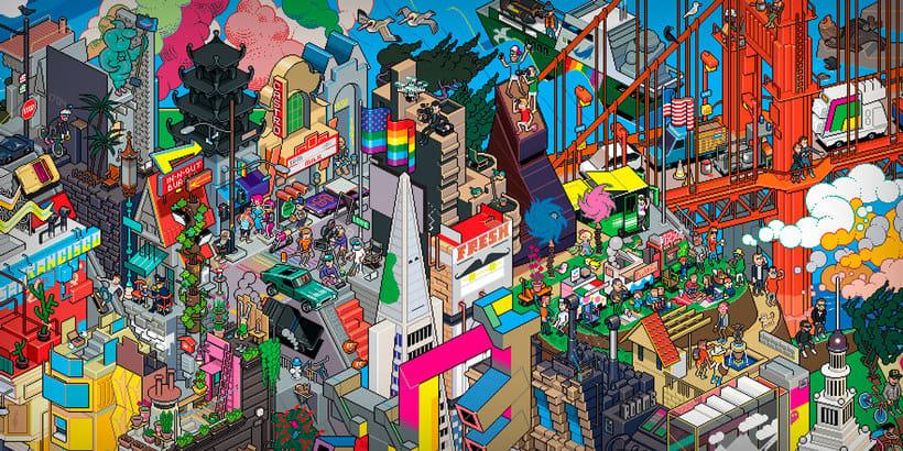10 artistas del pixel art que nos devuelven a los 80 2