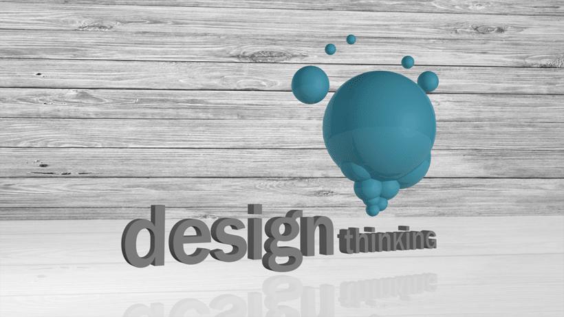 DESIGN THINKING - LOGO 3D 0